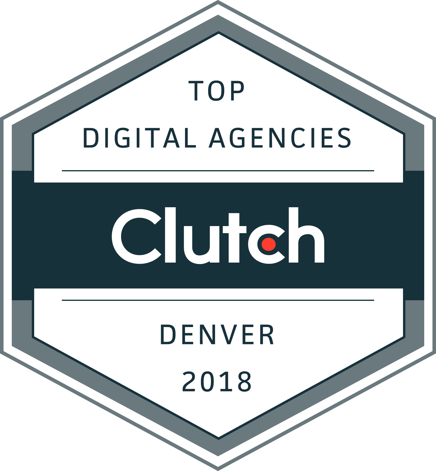 Clutch Top Digital Agencies 2018 Award