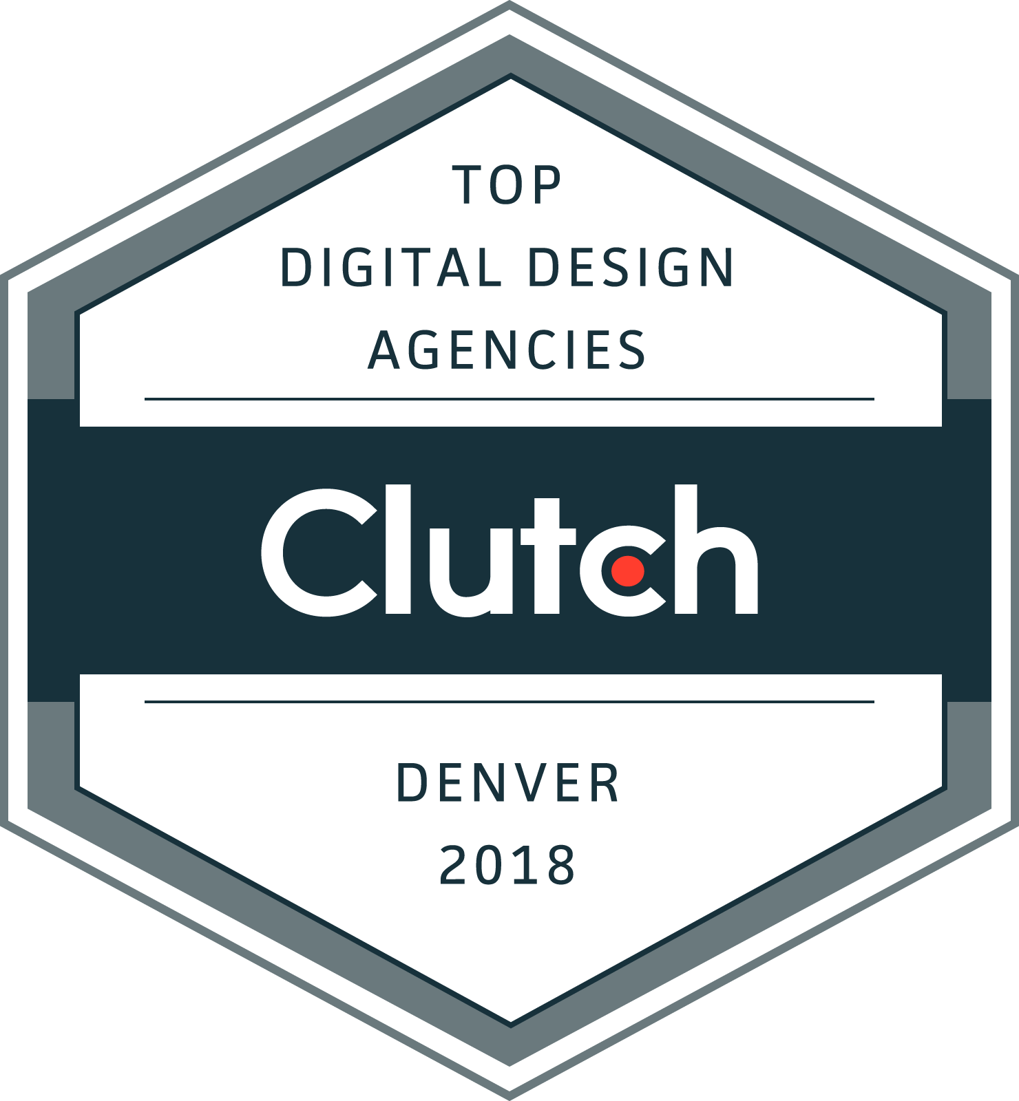 Clutch Top Digital Design Agencies 2018 Award