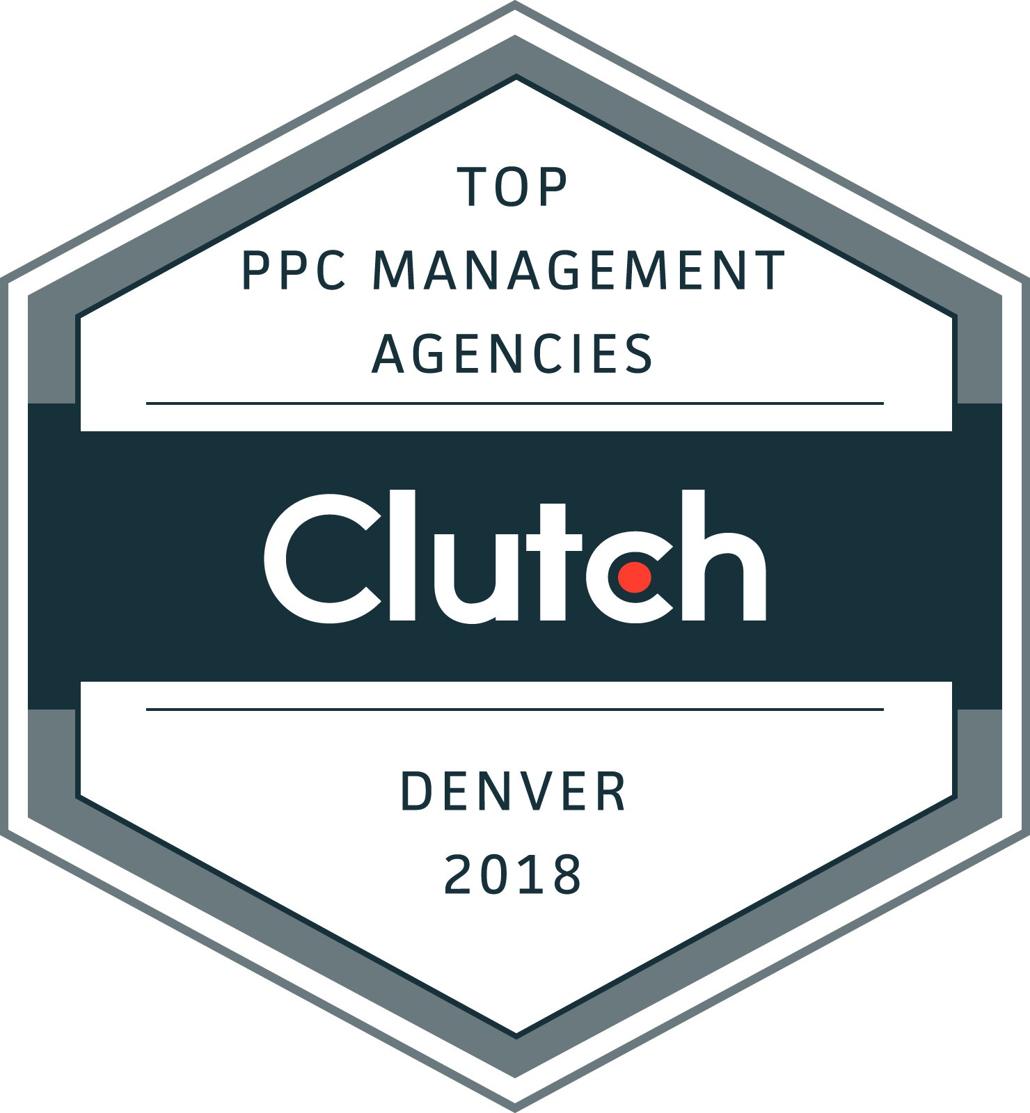 Clutch Top PPC Management Agencies 2018 Award