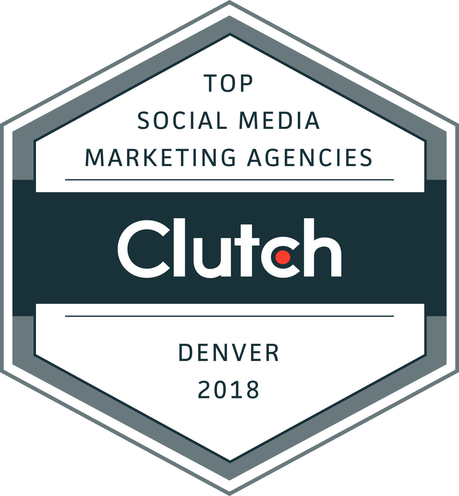 Clutch Top Social Media Marketing Agencies 2018 Award
