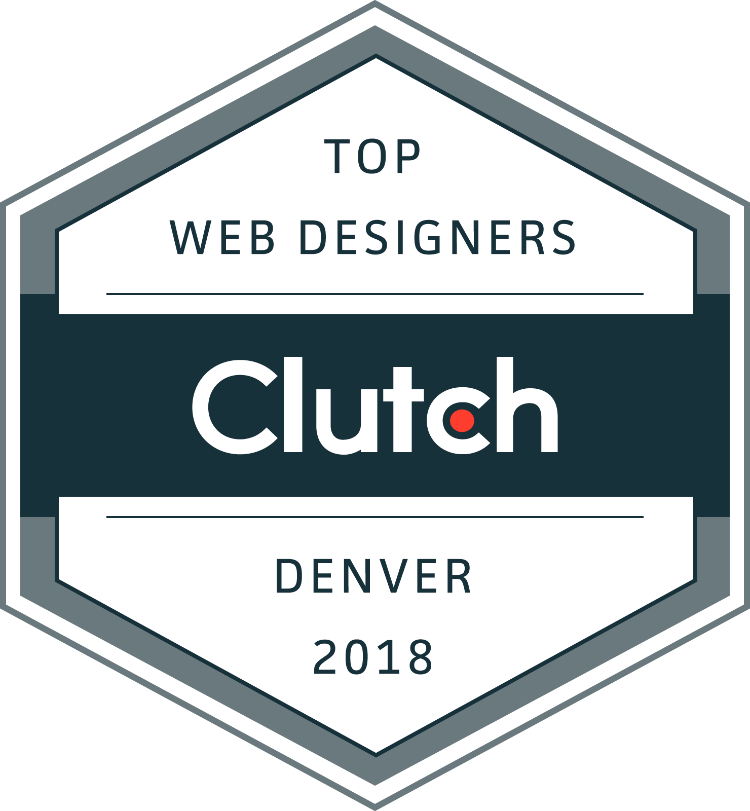 Clutch Top Denver Web Designers 2018 Award