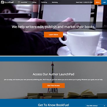 Web solutions for Book Fuel