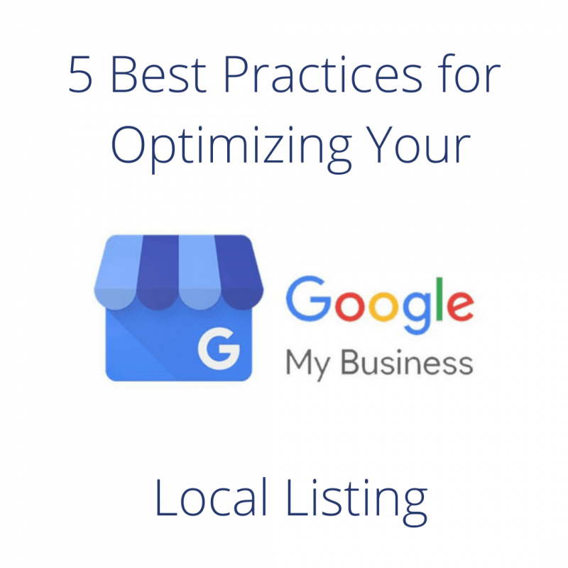 5 Best Practices for Optimizing Your Local Listing