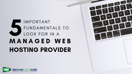 Managed web hosting fundamentals