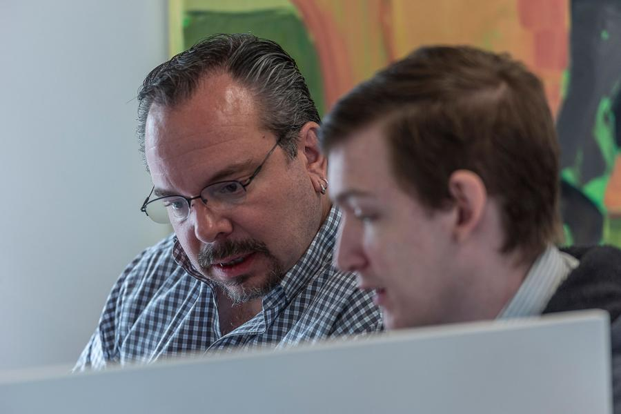 Andy Lasda, our Director of Technology, builds websites that achieve client goals.