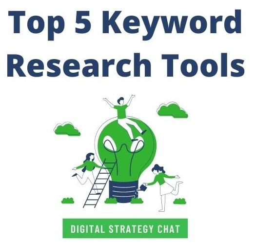 lightbulb promo for keyword research tools chat